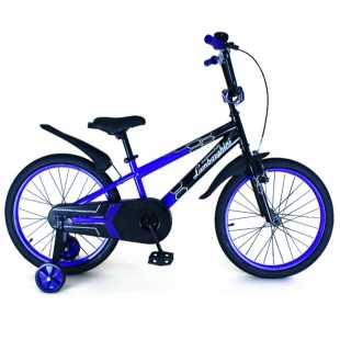 Детский велосипед Lamborghini Strada 20 синий