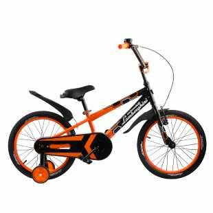 Детский велосипед Lamborghini Strada 18 оранжевый