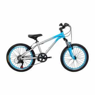 Детский велосипед Ciclistino Rider 20 серебристо-синий