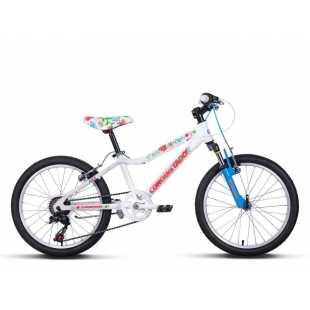 Велосипед Conquistador Andle 20 (2016) Белый/розовый