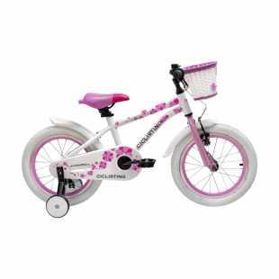 Детский велосипед Ciclistino Rider 16 белый