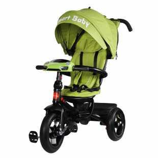 Трехколесный велосипед Smart Baby Expert зеленый