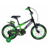 Детский велосипед Lamborghini Strada 16 зелёный...