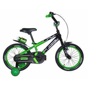 Детский велосипед Lamborghini Strada 16 зелёный