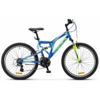 Велосипед Stels Mustang V020 24 Синий (2017)