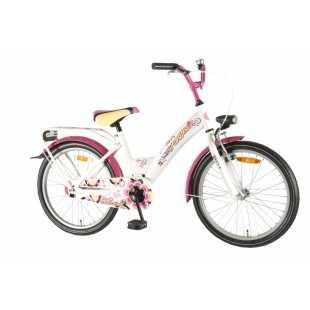 Детский велосипед Volare Shimmer Girl 20 (2014) белый/розовый