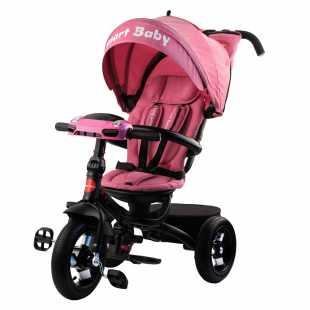 Трехколесный велосипед Smart Baby Expert розовый