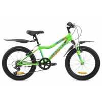 Подростковый велосипед Maverick D37 зелёный