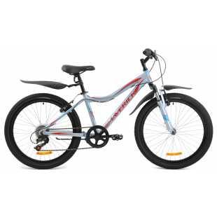 Подростковый велосипед Maverick D40AL серый