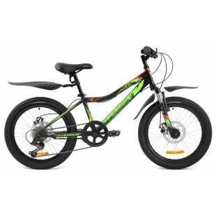 Подростковый велосипед Maverick D37 Disc матово-черный