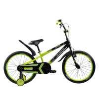 Детский велосипед Lamborghini Strada 20 зелёный...