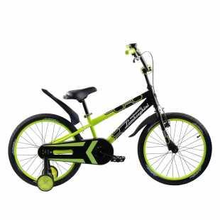 Детский велосипед Lamborghini Strada 20 зелёный