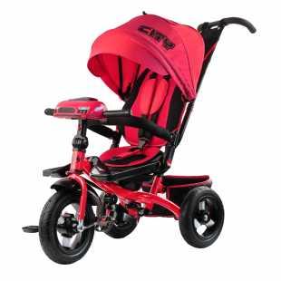 Трехколесный велосипед City H5 красный