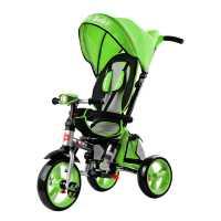 Трехколесный велосипед Smart Baby Travel зеленый...